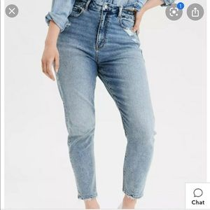 AE Stretch Curvy Mom Jeans